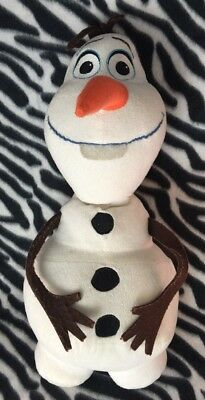 """Disney Frozen Olaf Plush Backpack Bag Doll Licensed by Disney 17"""" Tall Authentic"""