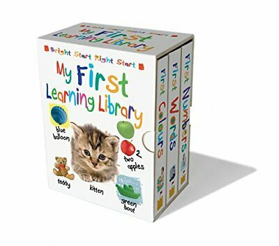 My First Learning Library by Sandcastle Books Ltd Book The Cheap Fast Free Post