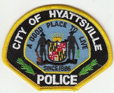 Hyattsville Police Shoulder Patch Maryland Md