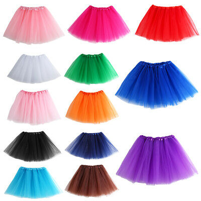 Ladies Girl Women Adult Tutu Skirt Mini Ballet Princess Fancy Dress Party New MD