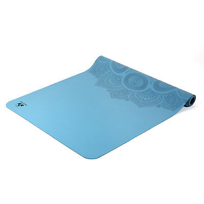 Rubber Travel Yoga Mat, Portable Lightweight Home Indoor Gym Exercise Soft New