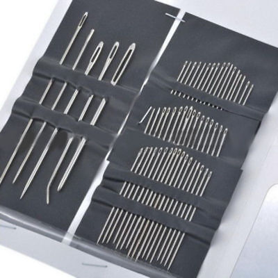 55 PCS / Set Stainless Steel Sewing Needle Embroidery Mending Craft Tool