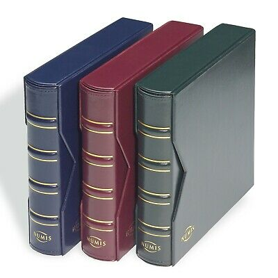 Lighthouse NUMIS Coin Album Classic Design With Slipcase Incl 5 Different Sheets