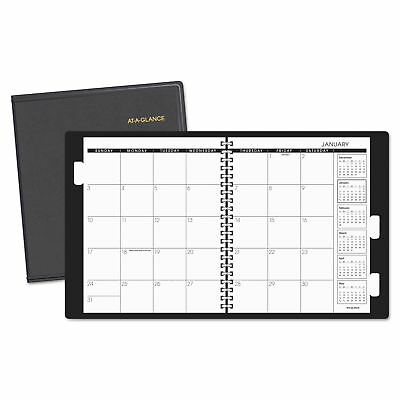 AT-A-GLANCE Refillable Multi-Year Monthly Planner, 9 x 11, White, 2018-2020