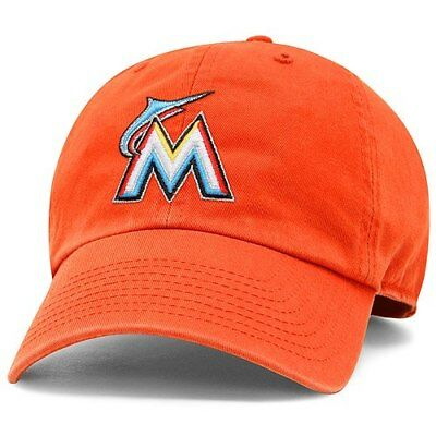 the best attitude bbdd3 c1598 Miami Marlins  47 Freshman Franchise Fitted Hat - Orange