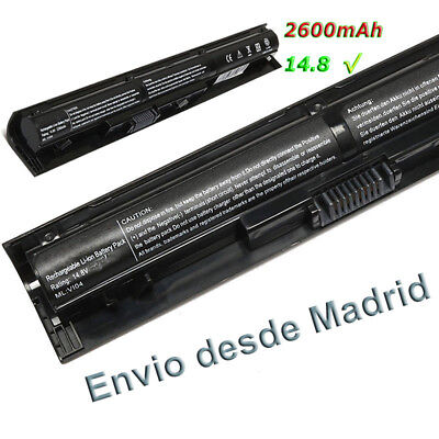Portatiles Bateria para Notebook HP 756743-001 Li-ion 14,8v 2600mAh Battery