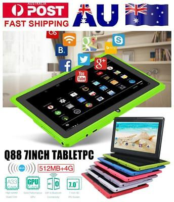 MediaTek 7'' inch Android Tablet PC Quad Core 512MB+4GB WiFi Calls Kids Gift AU