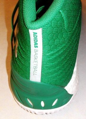 hot sale online 63dd2 3b688 Adidas Crazy Explosive Men Size 18 US Geofit Basketball Shoes Green White  NEW!