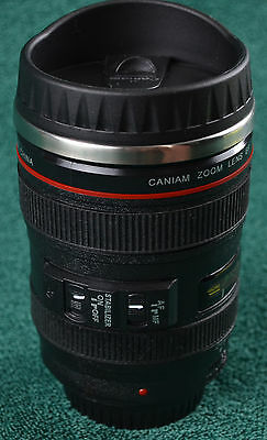 Caniam Camera 24-105mm Stainless steel Coffee Travel Mug Cup JN006