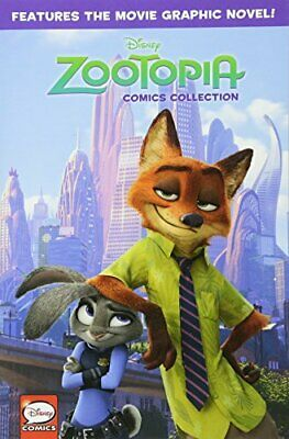 Disney Zootopia Comics Collection by Disney Book The Cheap Fast Free Post