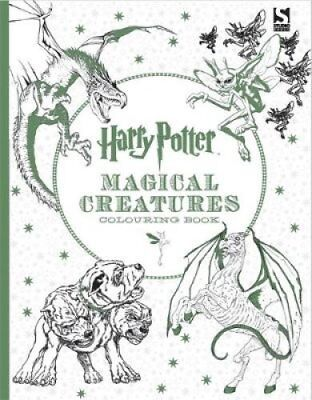Harry Potter Magical Creatures Colouring Book 9781783705825 (Paperback, 2016)