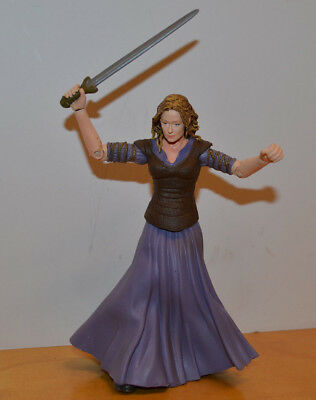 """Lord Of The Rings Eowyn Loose Action Figure Toybiz Lotr 2003 6"""" Fantasy"""