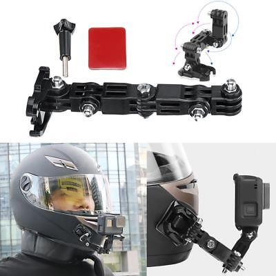Adhesive Full Face Helmet Front Chin Mount for Gopro Hero 6/5/4/3 Action Camera
