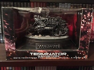 **OFFERTA** TERMINATOR SALVATION cofanetto Limited Edt. 2 dvd+Modellino moto