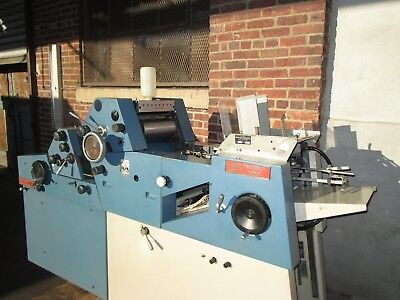 chief 217  2 color   very clean machine excellent  condition kompac on main head