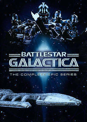 Battlestar Galactica: The Complete Epic Series New DVD! Ships Fast!