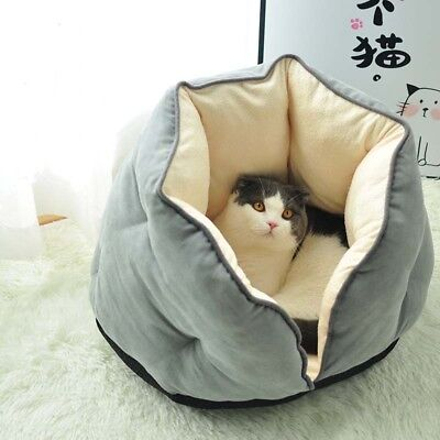 Pet Dog Cat Kennel Mat Warm Soft House Bed Nest Cushion Sleeping Bag Puppy Kitty