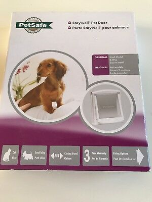 Staywell Petsafe Cat Flap Or Small Dog Door, New