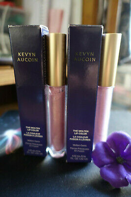 Kevyn Aucoin the molten lip color new in box full size 0.14oz select your shade