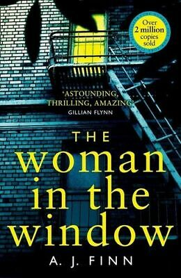NEW The Woman In The Window By A. J. Finn Paperback Free Shipping