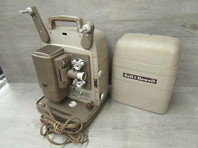 Bell & Howell Model 253 AX Vintage 8mm Film Projector Tested