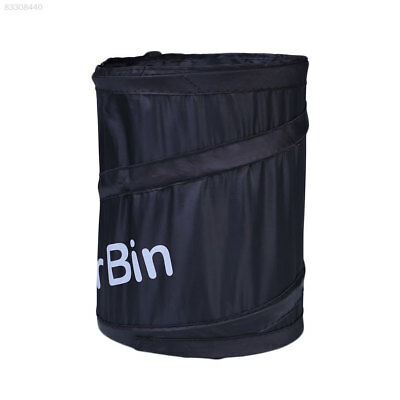 56C5 Portable Car Interior Foldable Dust Bin Storage Garbage Container Box Bag