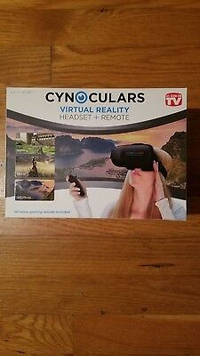 Cynoculars Virtual Reality Headset And Remote  -  As Seen On Tv