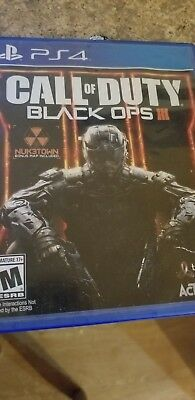 Playstation 4 Call of Duty Black Ops III 3 PS4 PREOWNED US Free Shipping