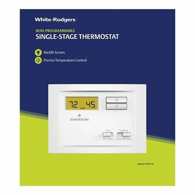 White Rodgers  Digital Manual Thermostat