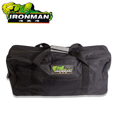Ironman 4Wd 4X4 Recovery Kit Tool Tools Bag For Strap Shackles Rescue Large