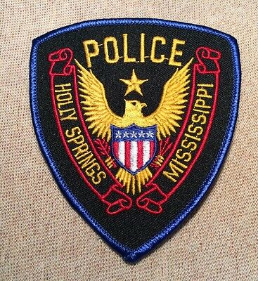 MS Holly Springs Mississippi Police Patch