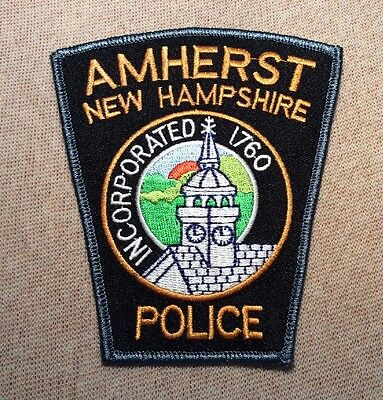NH Amherst New Hampshire Police Patch