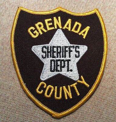 MS Grenada County Mississippi Sheriff Patch