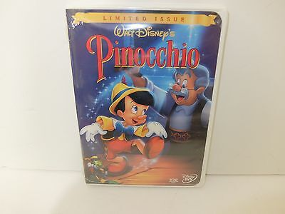 Pinocchio (DVD, 1999, Limited Issue) BRAND NEW! RARE!