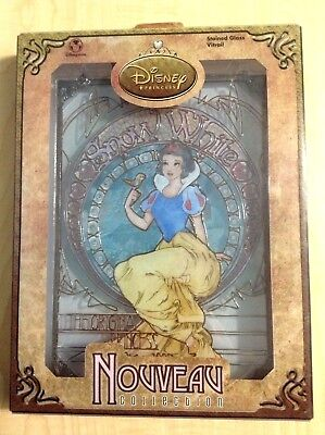 Disneys Snow White Stained Glass Vitrail stained glass Nouveau Collection HTF