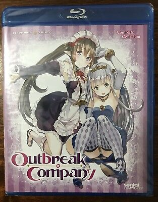 Outbreak Company: Complete Collection (Blu-ray Disc, 2015, 2-Disc Set)