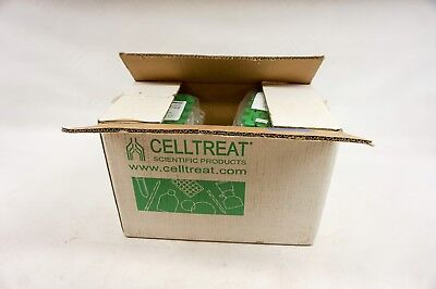 Lot of 250 Celltreat 15ml Centrifuge Tubes Brand New Product #229412 w/foam rack