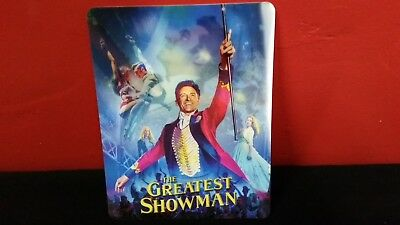 THE GREATEST SHOWMAN - 3D Lenticular Magnetic Cover Magnet for BLURAY STEELBOOK