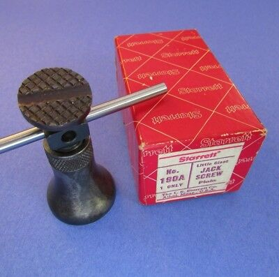 STARRETT  190 A  Little Giant Jack Screw; Excellent condition; Machinist