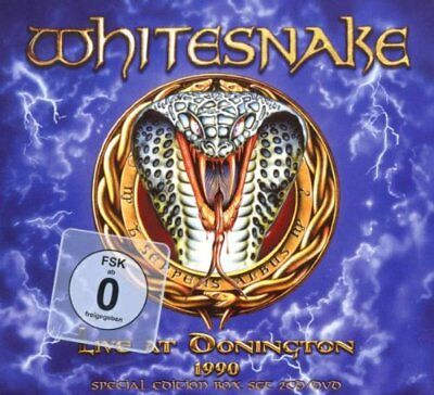 Whitesnake - Live At Donington 1990 - Whitesnake CD TWVG The Fast Free Shipping