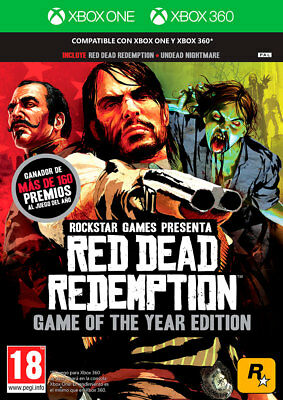 Juego  Take Two  Xbox One  Red Dead Redemption Goty - Xbox One - Xbox 360  Nu...
