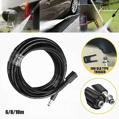 8M 5800PSI REPLACEMENT High Pressure Washer Hose Pipe Cleaning For