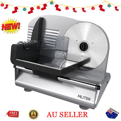 150W Electric Food Slicer Meat Bread Cheese Food Processor Stainless Steel Blade
