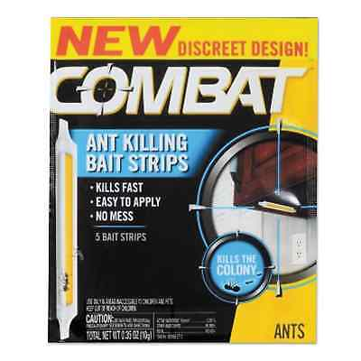 Combat Ant Bait Insecticide Strips 0.35-ounce 5/Box 12 Box/Carton