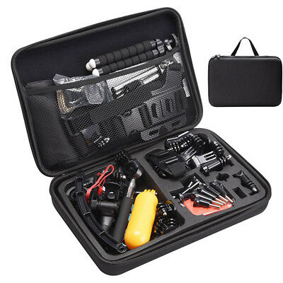 Extra Large Carry Hard Bag Case Go Pro HERO 6 5 4 Session 3+3 Camera Storage Box