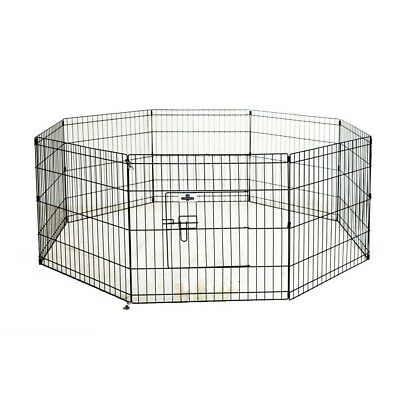 Confidence PET Metal Indoor Foldable Dog Playpen Puppy Guinea Pig Exercise