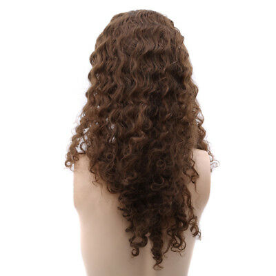Women Long Curly Wavy Wig Chemical Fiber Party Cosplay Hair 6A