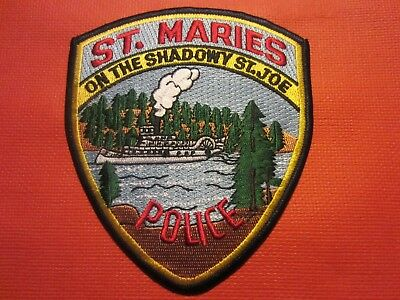 Collectible Idaho Police Patch,St.Maries,New