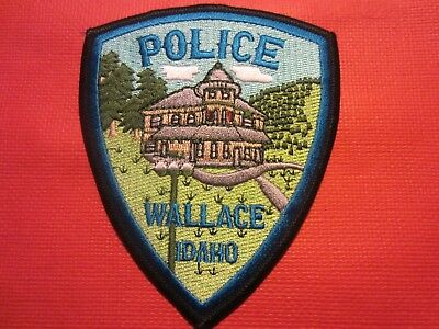 Collectible Idaho Police Patch,Wallace,New