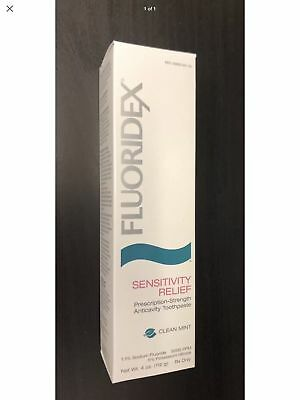 Fluoridex Sensitivity Relief Toothpaste 4oz.